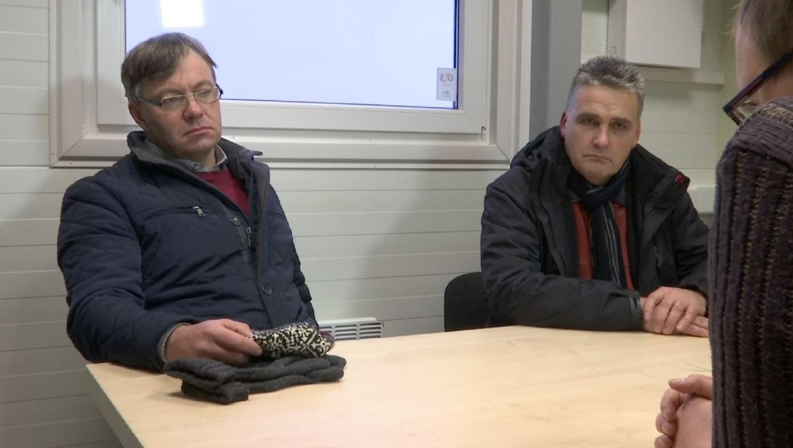 Pärnu abilinnapea Siim Suursild, OÜ Liu Fish juhatuse liige Arne Taggo.
