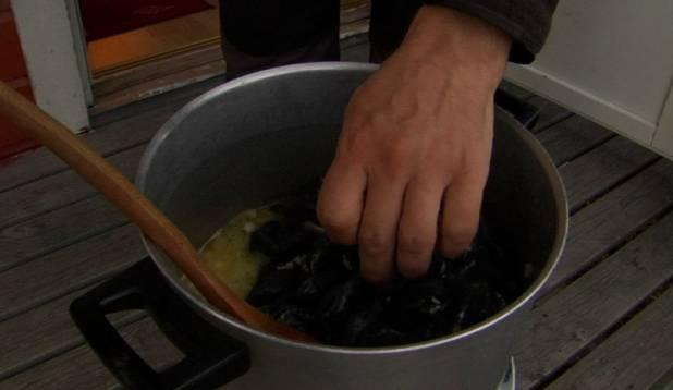 Asume karpe veinis aurutama. Foto: Margus Talvik.