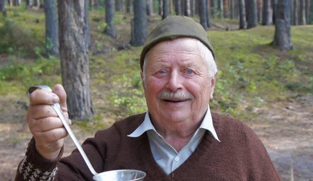 Makarovo küla kalamees Nikolai. Foto: Priit Kallas.