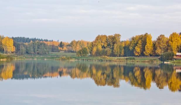 Põrmu järv Võrumaal. Foto: Aivar Kullamaa.