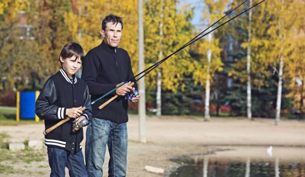 Stass Pesjukov ja tema poeg Nikita. Foto: Aivar Kullamaa.