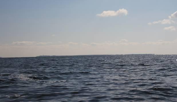 Saar Peipsis – vaade Piirissaarele.
