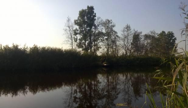 Vigala jõel vimba otsimas, 20-21. september 2014
