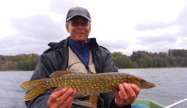 Vahel tuli järvest ka kobedamat kala.