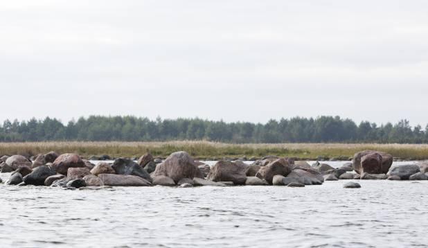 Oktoober Saaremaa idarannikul. Foto: Aivar Kullamaa.