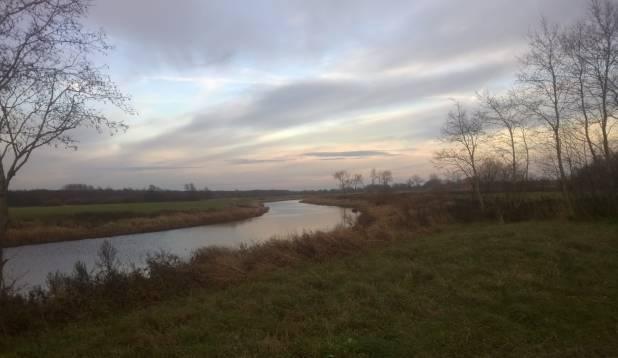 Vigala jõel lutsu luurel, 25. oktoober 2014