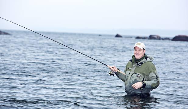 LENDA, LENDA LANDIKE! Lõviosa Hannes Võrno senistest kalaretkedest on kulgenud tonkapüügi tähe all. Aga ka landi otsa on tal üht-teist jäänud.  Foto: Aivar Kullamaa.