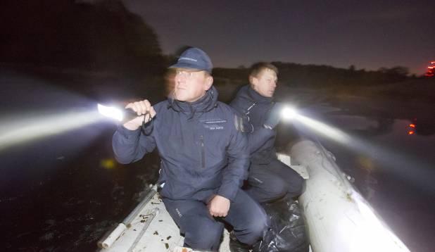 Öisel Pirita jõel võib nii mõndagi juhtuda. Foto: Aivar Kullamaa.