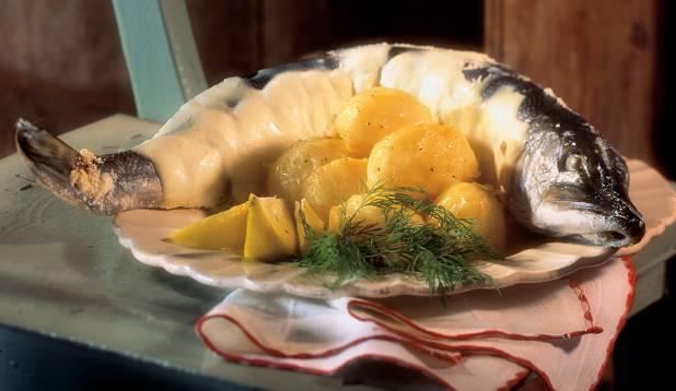 Ahjuhavi juustukartulitega. Foto: Jaan Heinmaa