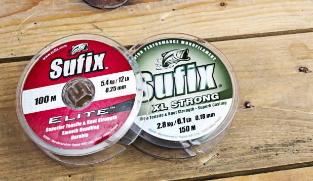 Lipsutamiiliks sobib suurepäraselt Sufix, alates 0,18 mm läbimõõduga.  Foto: Aivar Kullamaa.