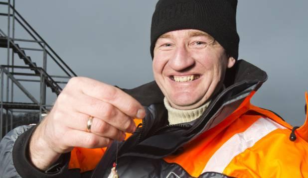 """KALAMAGNET. """"Viljandi on kalamehele ideaalne koht elamiseks!"""" ütleb Ixa. Foto: Aivar Kullamaa."""