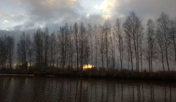Lääne Soomes suurt koha otsimas, 23. november 2014