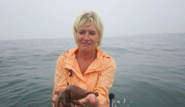 """TIINA SINIJÄRV: """"Kauaoodatud kalareis Portugali rannikule oli täis elamusi. Sellel """"kalal"""" oli kaheksa jalga all!"""""""