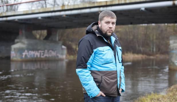"""Vabatahtlike üks eestvedajaid Jüri """"Duuds"""" Nurk. Foto: Aivar Kullamaa."""