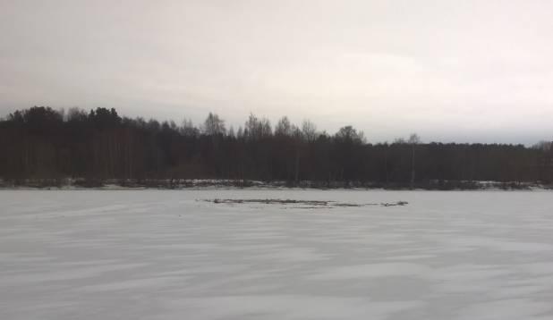 Pärnu jõel mõllitamas, 24. jaanuar 2015