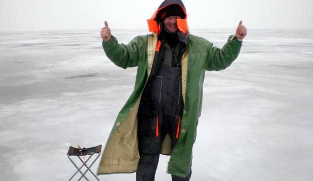 Tõelist kalameest ei peleta mingi tormike