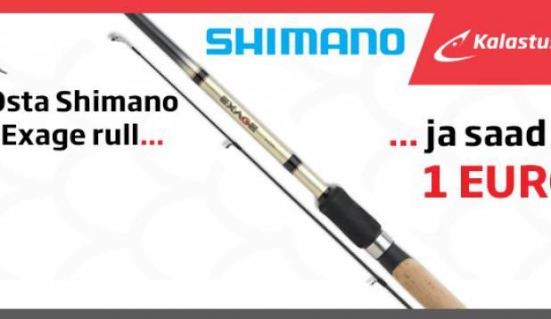 Shimano Exage ritv 1 eur!