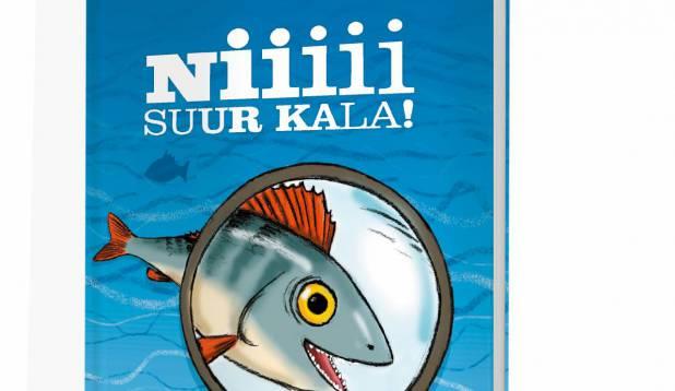 """Ilmunud on kalastusteemaline lasteraamat """"Nii suur kala!"""""""