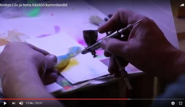 VIDEO: Andres Liiv ja tema käsitöölandid. II osa. Kummilandid