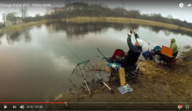 VIDEO: Oinaga Kalal feederdamas