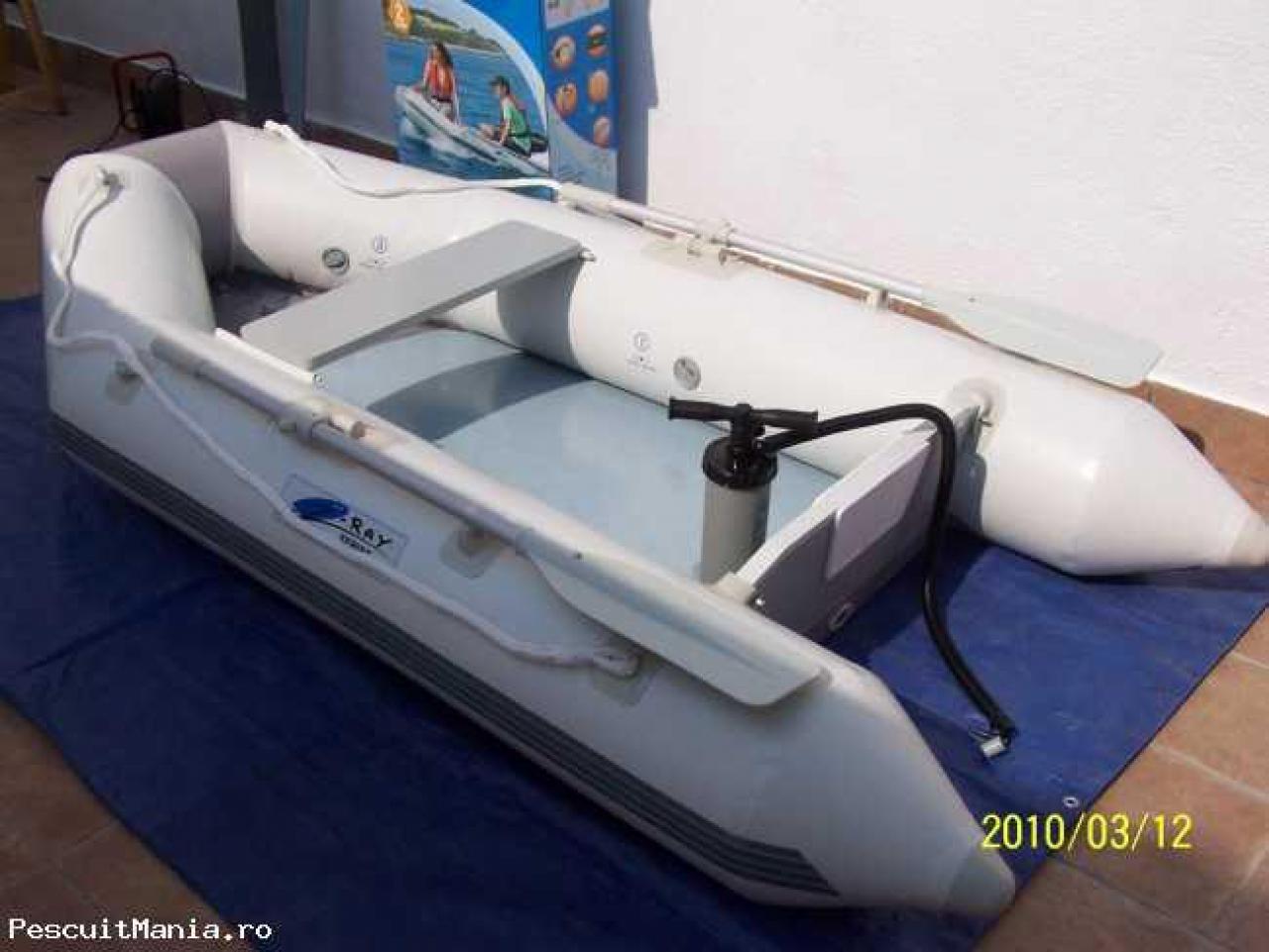 5d761684111 PVC-paat Z-Ray I 300, MinnKota 30, aku, laadija (350,00€)