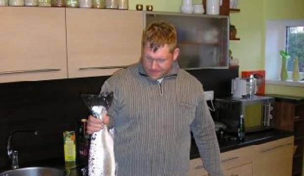 eelnevalt eksponeeritud kala teises vaates