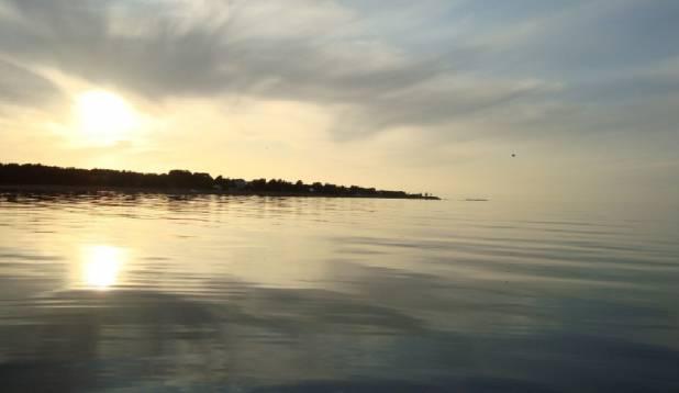 Õhtupoolik merel
