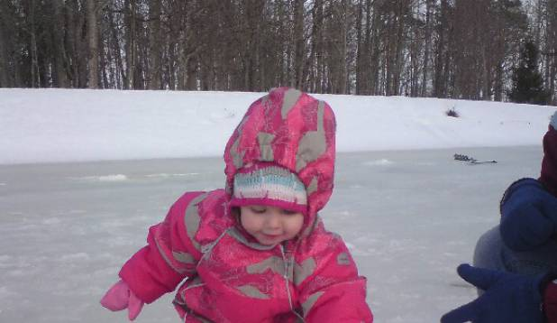 Esimene talipüük 03.04.2011, Pedja jõgi