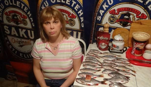Snäkk ja Haapsalu promennadi kalad.