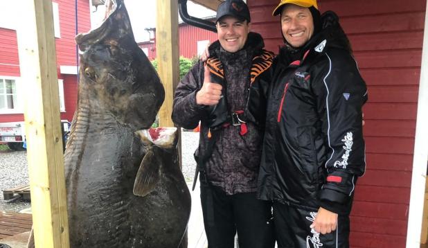 Norras kalal  Tarmo ja Philipp