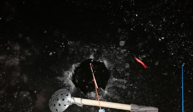 õhtul proovitud 4cm jää