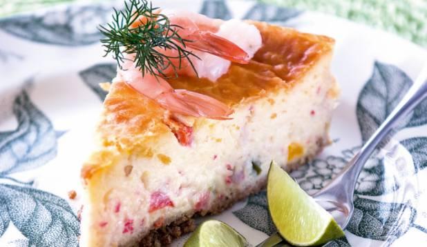 Krabi-juustutort Autor: Jaan Heinmaa Foto: Jaan Heinmaa