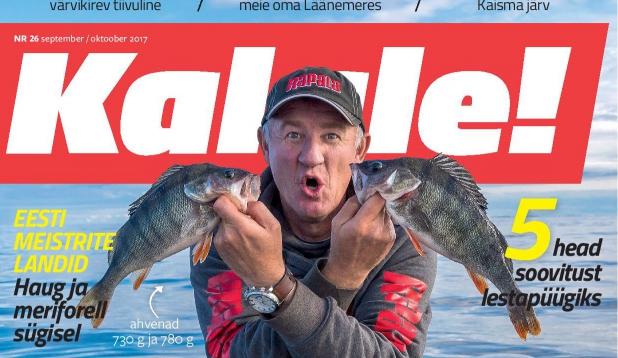 Ilmus ajakirja Kalale! värske number