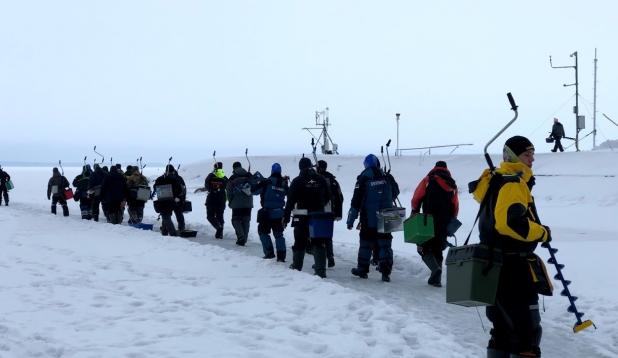 Eesti meistrivõistlused jääaluses kalapüügis. Foto: Märt Aab
