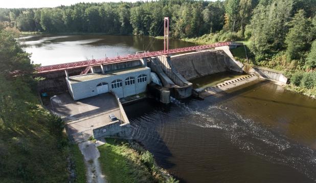 Linnamäe HEJ Jägala jõel. Foto: Tiina Kõrtsini
