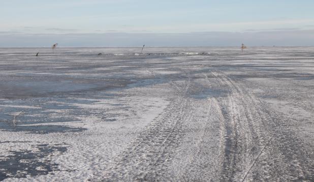 Talvine Peipsi järv. Foto: Aldo Luud