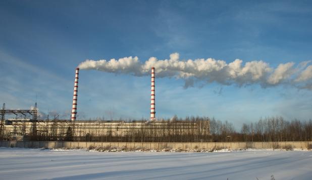 Auvere elektrijaam. Foto: Aldo Luud