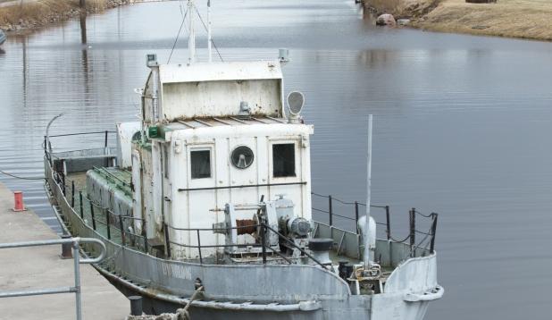 Laev Peipsi sadamas. Foto on illustreeriv. Foto: Aldo Luud