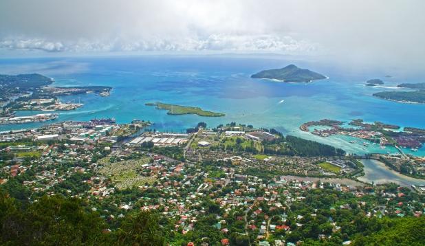 Seišellide pealinn Victoria Mahé saarel. Foto: Pixabay